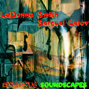 CD-R Cover. Erogenous Soundscapes by LaDonna Smith and Sergey Letov
